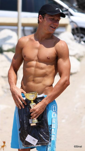 Muscles on the beach