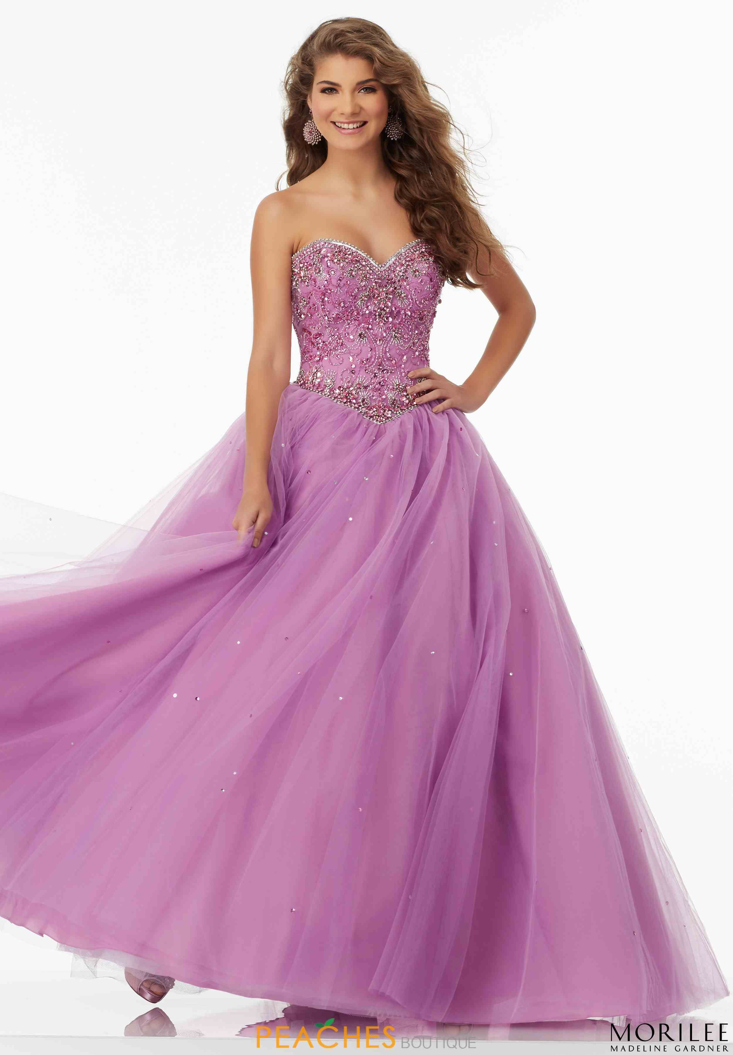 Mori Lee Beaded Plus Ball Gown 99154 | Prom 2017 | Pinterest