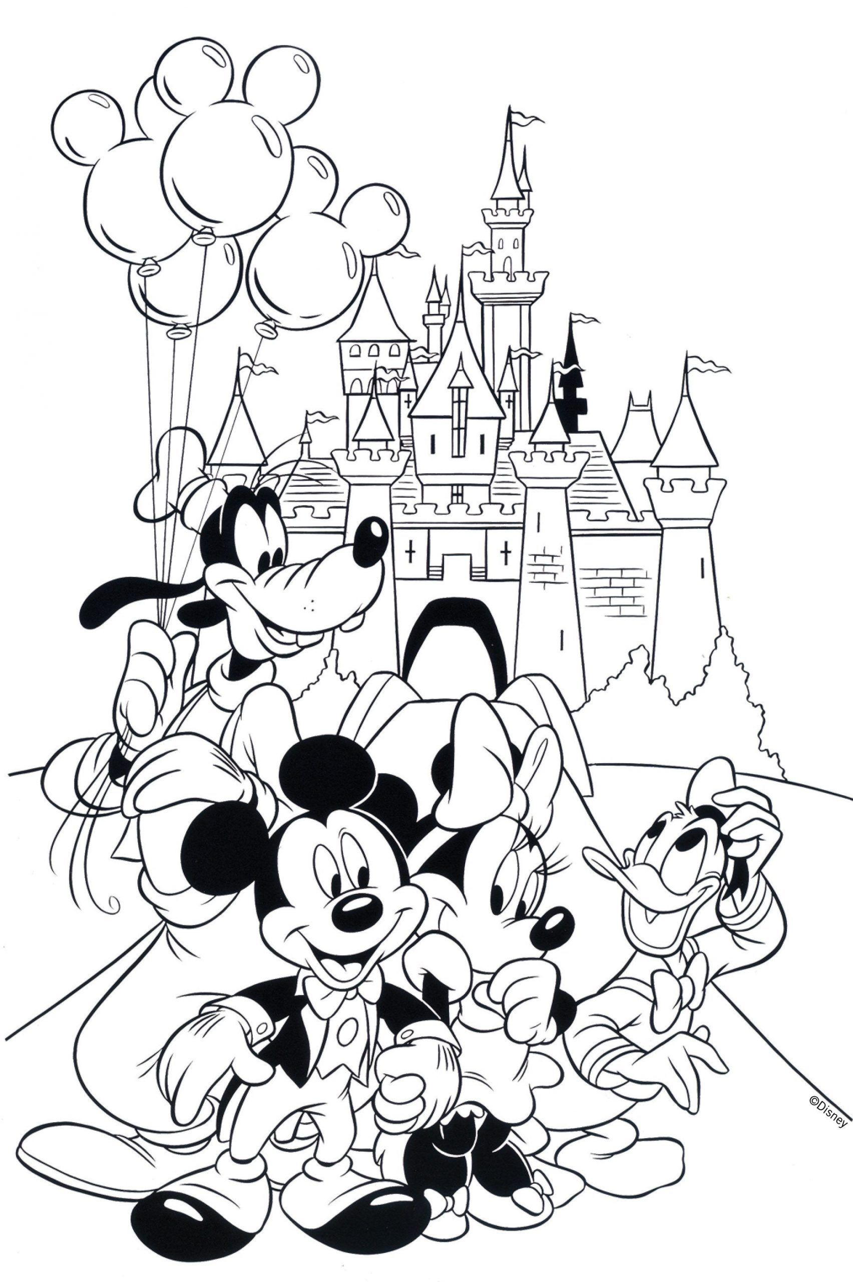 Disney Worksheets