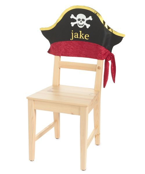 Miraculous Personalized Pirate Chair Cover Birthday Chair Diy Kids Dailytribune Chair Design For Home Dailytribuneorg