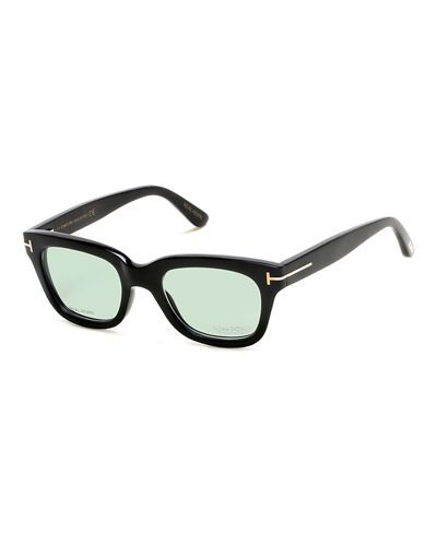 f807f6e98f78 Tom Ford square optical frames from the TF Private Collection. Thick frames  in real horn. Signature golden