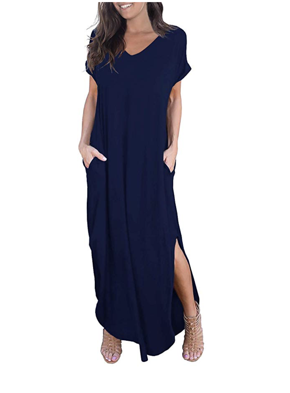 The Best Amazon Spring Summer Fashion Finds Moms On The Clock Maxi Dress Casual Dress Casual Dresses [ 1510 x 1114 Pixel ]