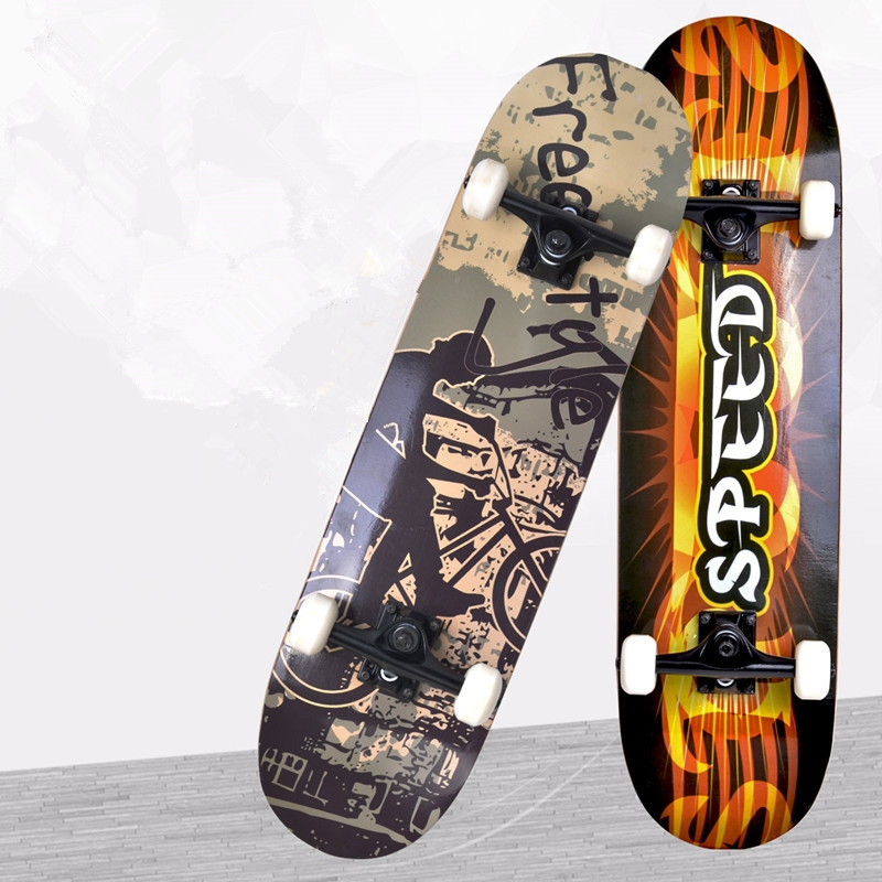 68.71$  Watch here - http://alimpj.worldwells.pw/go.php?t=32581519372 - 67-008 adult primary professional maple four double alice children brush street board skateboard skateboarding 68.71$