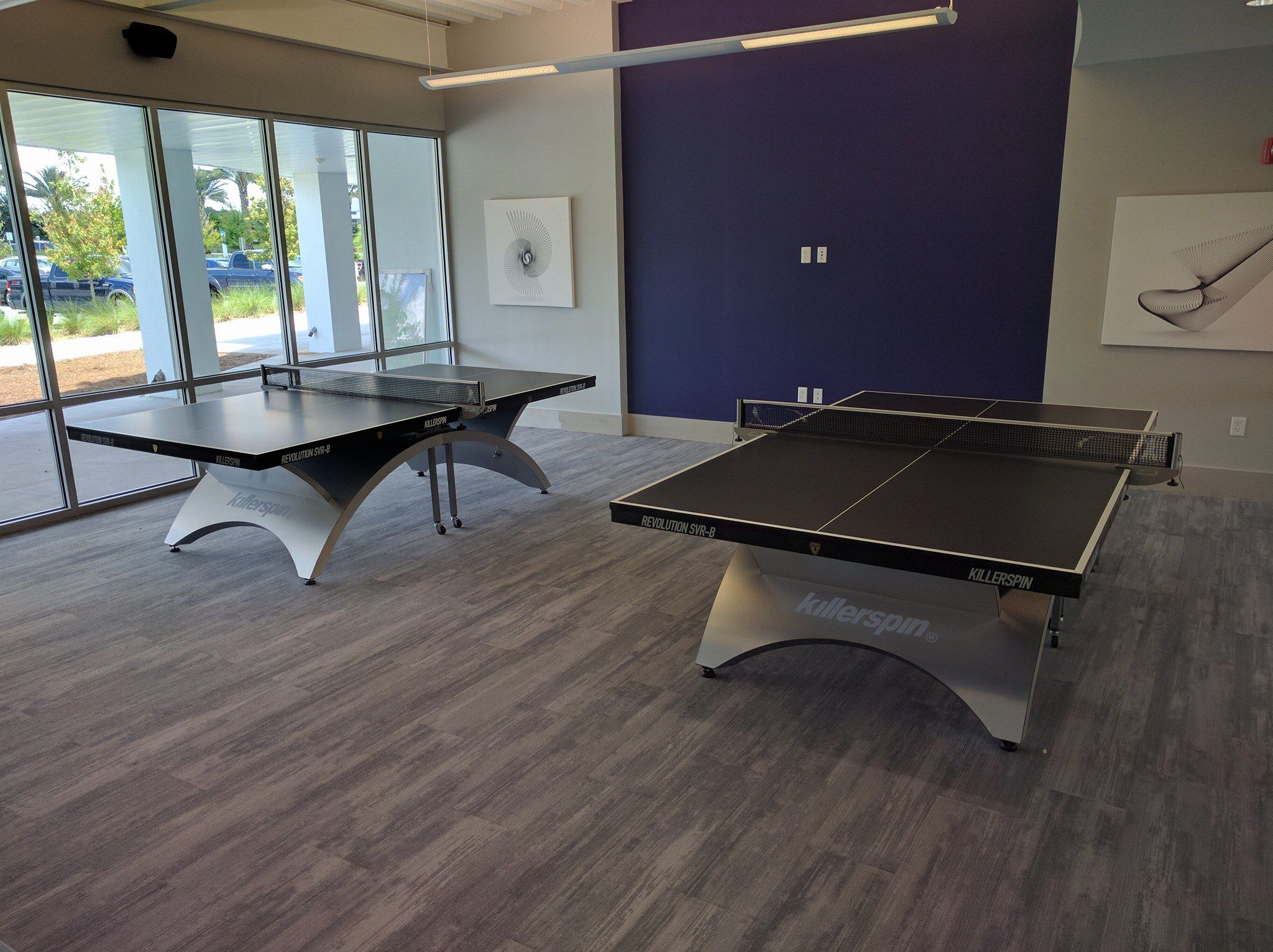 05bc9a422 Take a look at these two beautiful killerspin table tennis tables! http