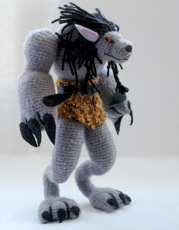 Wolf from World of Warcraft Werewolf amigurumi   The World of ...
