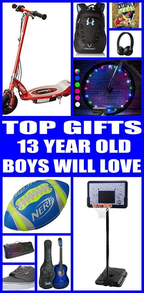 Best Gifts for 13 Year Old Boys Xmas gifts, Gift and Xmas