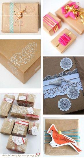 Idee Pacco Regalo Natale.Confezioni Regalo Natale Carta Da Pacchi Idee Regali E