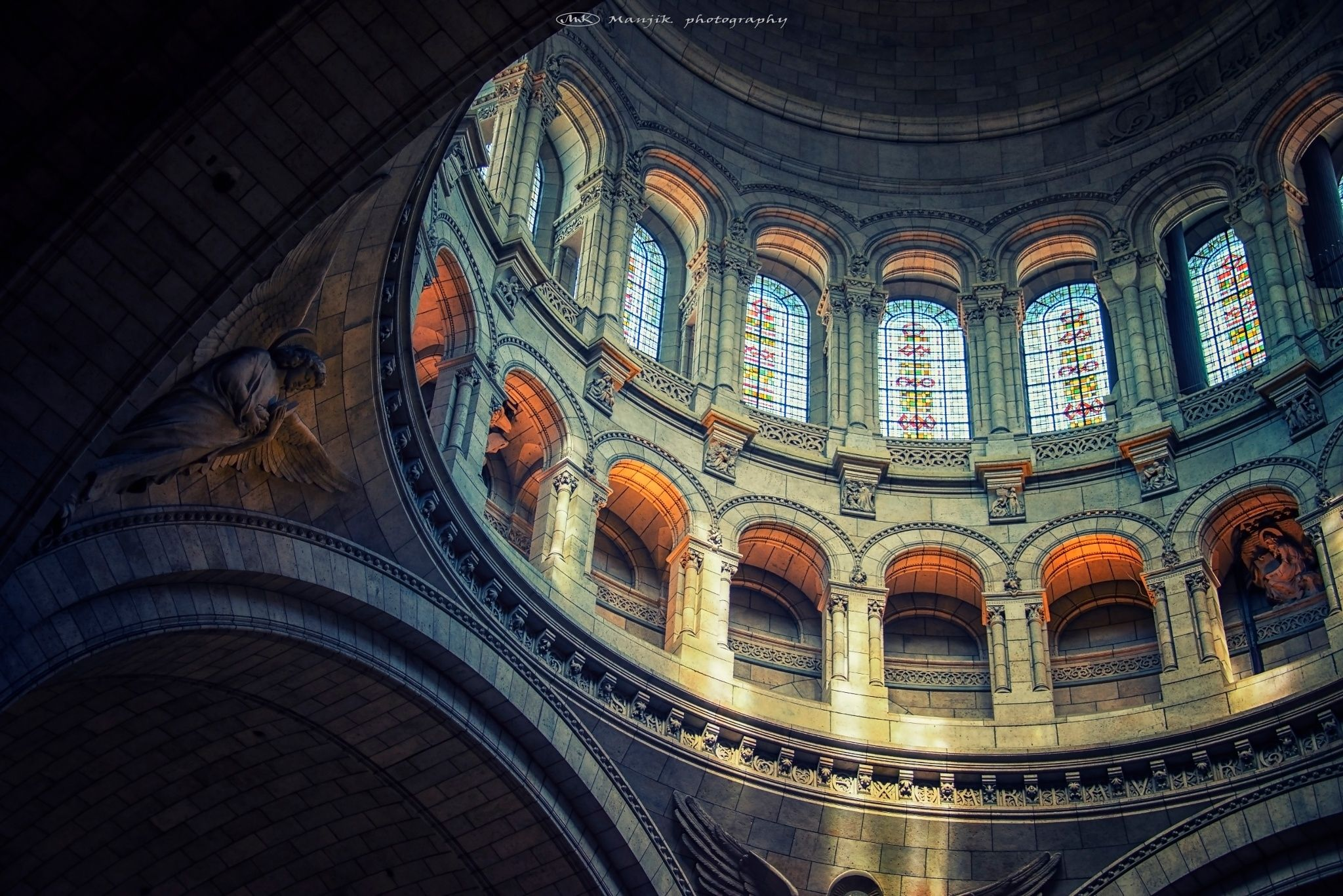"""Light from divine - Sacré-coeur in Paris  Feel free to follow me on : <a href=""""https://www.facebook.com/manjik.photography"""">Facebook</a>  <a href=""""https://www.flickr.com/photos/127381755@N02/"""">Flickr</a> <a href=""""https://www.instagram.com/manjikphotography"""">Instagram</a> <a href=""""https://twitter.com/ManjikPictures"""">Twitter</a>"""