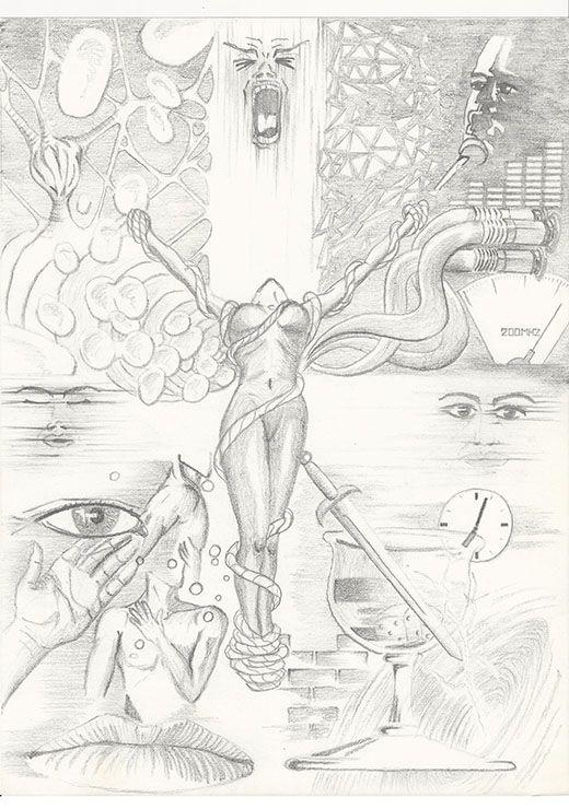 Die Vierfalt und die Dreifalt #ProfilDiesundDas #SciFi #Zeichnung #Zeichner #Zeichnen