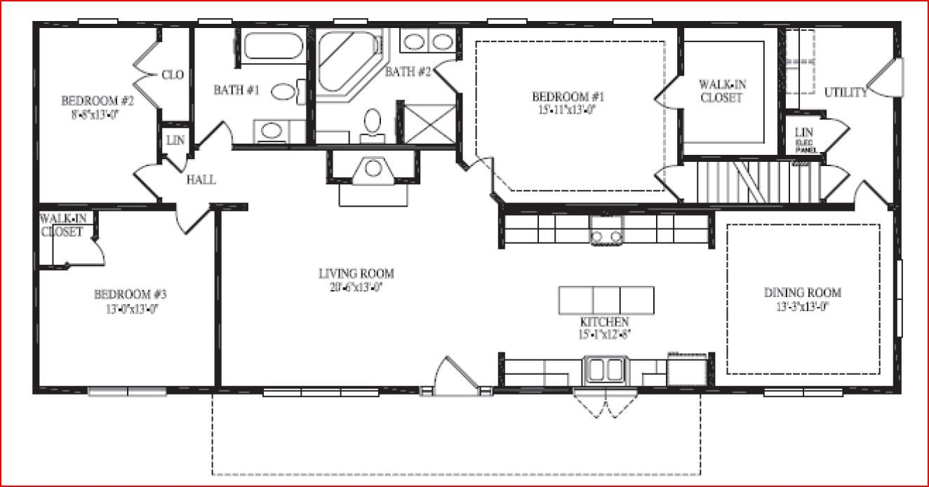 executive ranch house plans