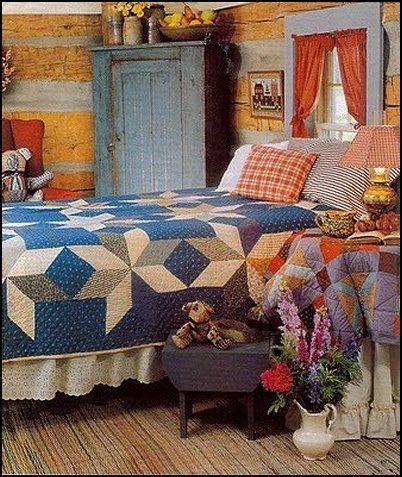 americana decor | primitive americana decorating style - folk art - heartland decor ...
