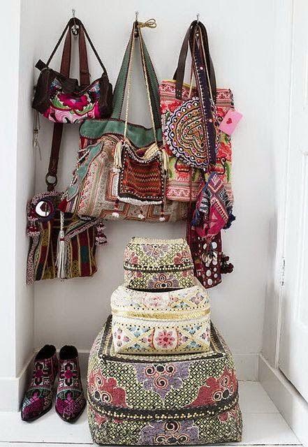 Variedad de bolsos, cual mas bonito