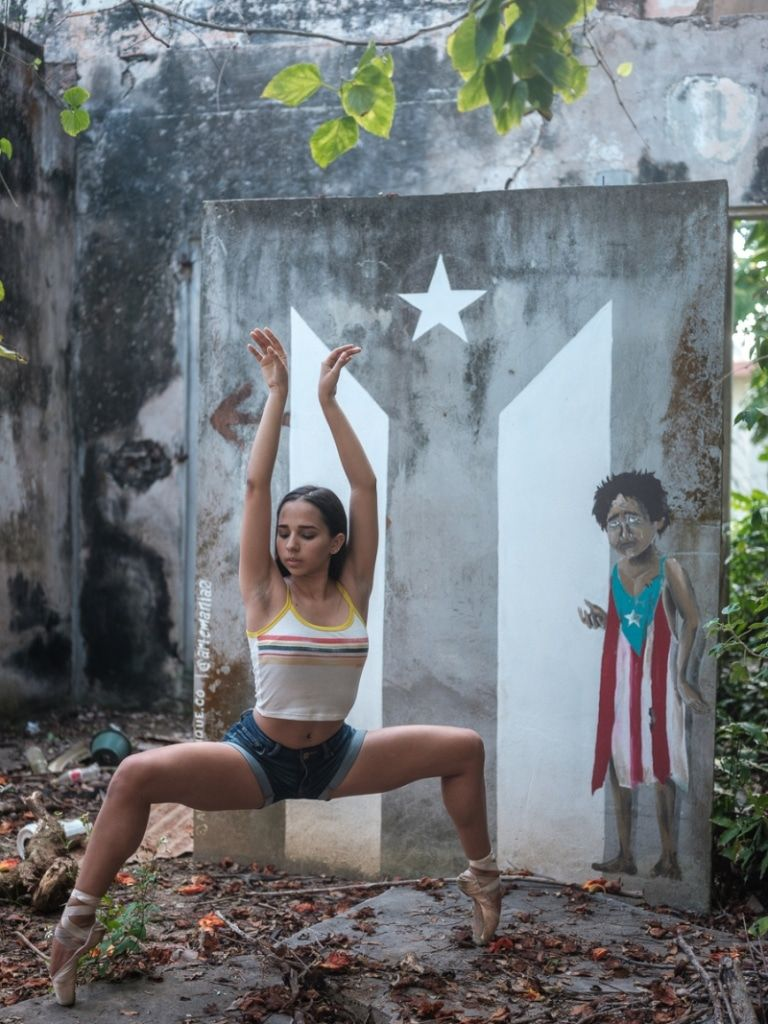 Powerful Photos Of Ballet Dancers On Streets Of Puerto Rico 5 Months After Hurricane Maria Puerto Rico Ballet Dancers Dance Pictures