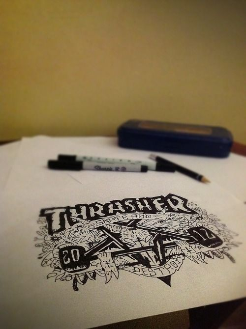 Trasher! #skateanddestroy