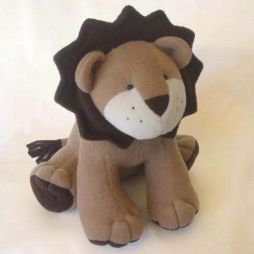 LION Toy Sewing Pattern - Plush PDF Pattern | Lions, Plush and ...