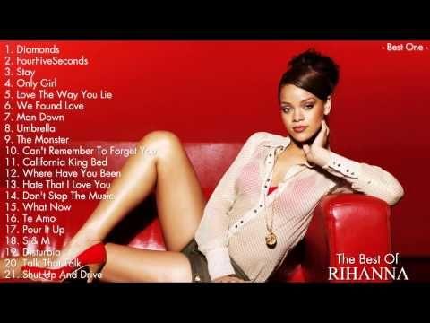 rihanna greatest hits cd track list