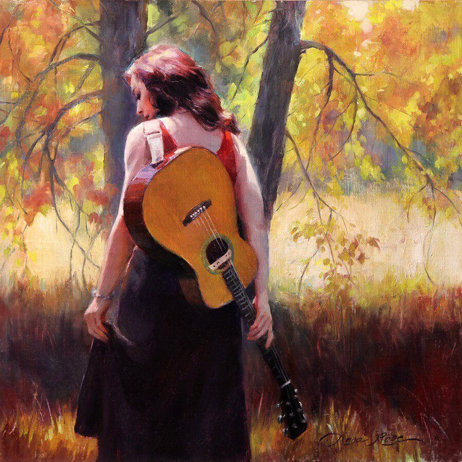 Gabriela On Anna Rose Fall Songs Charleston Art