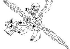 Kai Mini Dragon Ninjago Coloring Page Dragon Coloring Page