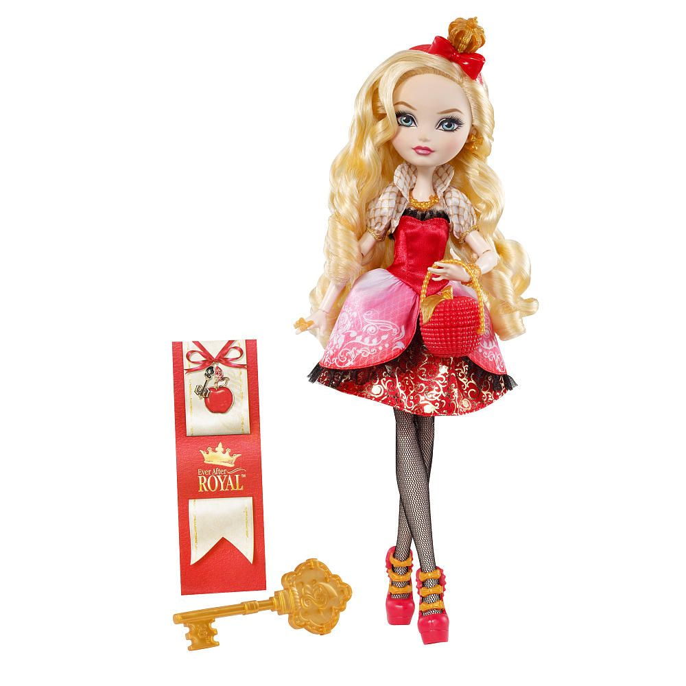 Ever After High Toys R Us : Ever after high royal doll apple white mattel toys