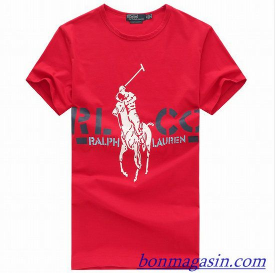 dfeeaf702d495a Vendre Pas Cher Homme Ralph Lauren Tee Shirts H0010 En ligne En France.