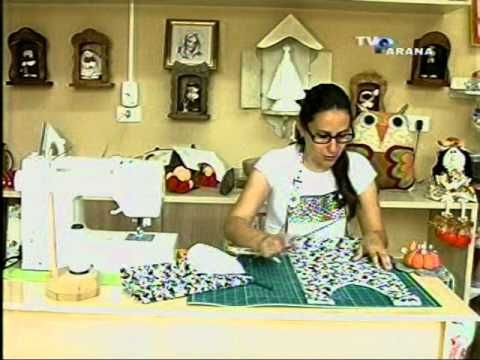 Sabor de Vida Artesanatos | Porta Marmita Térmico por Renata Herculano - 07 de Setembro de 2014 - YouTube