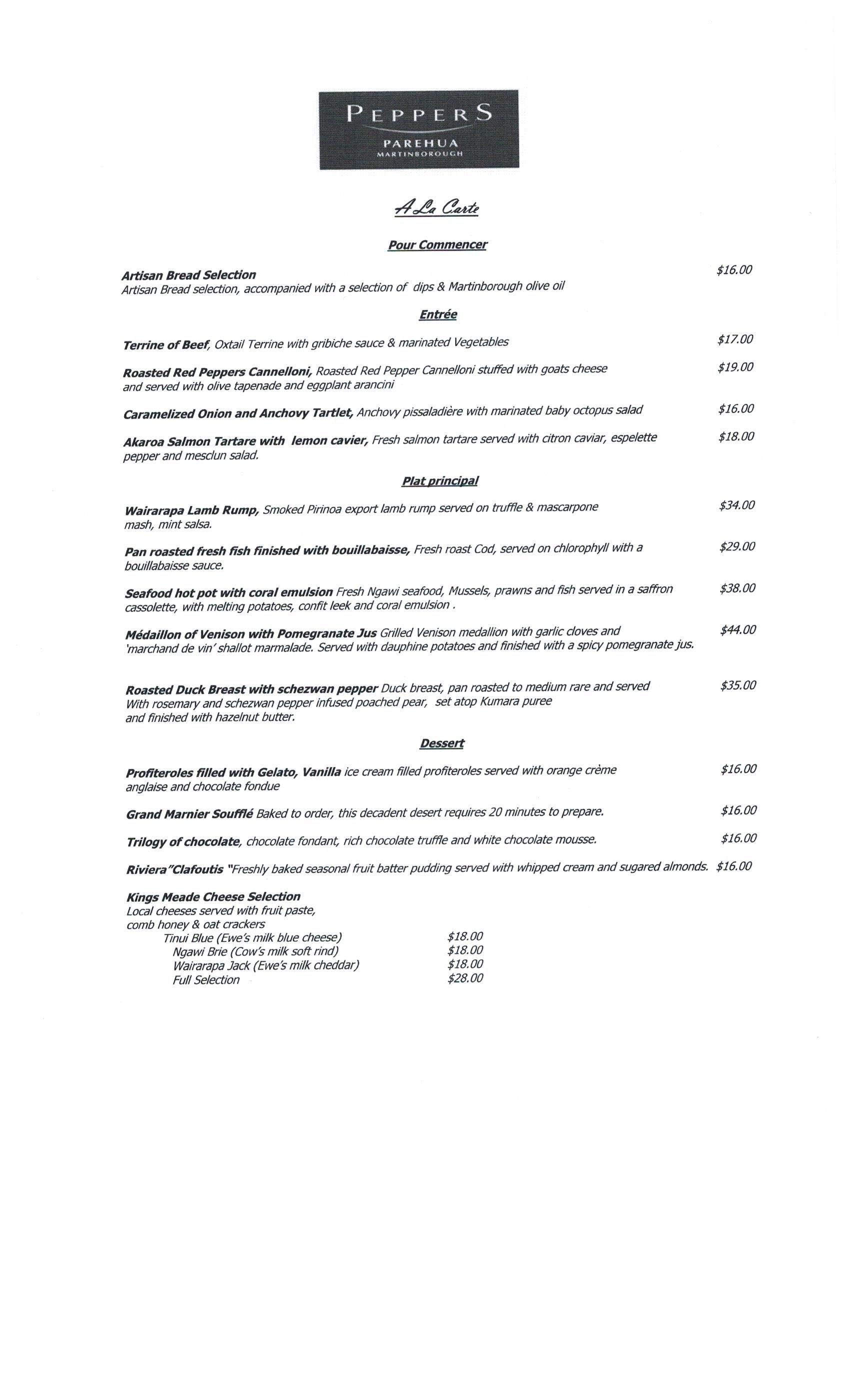 Siam Kitchen 2 | Martinborough Menus | Pinterest | Menu