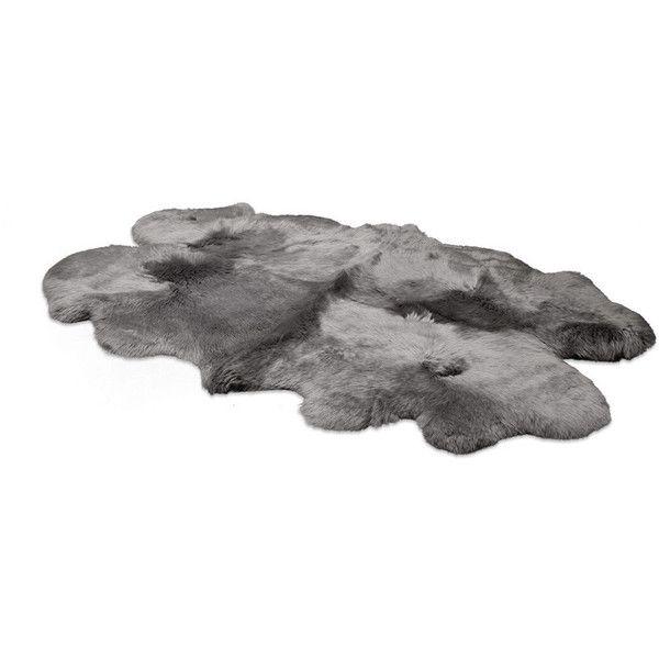 Ugg Sheepskin Area Rug Quarto Grey