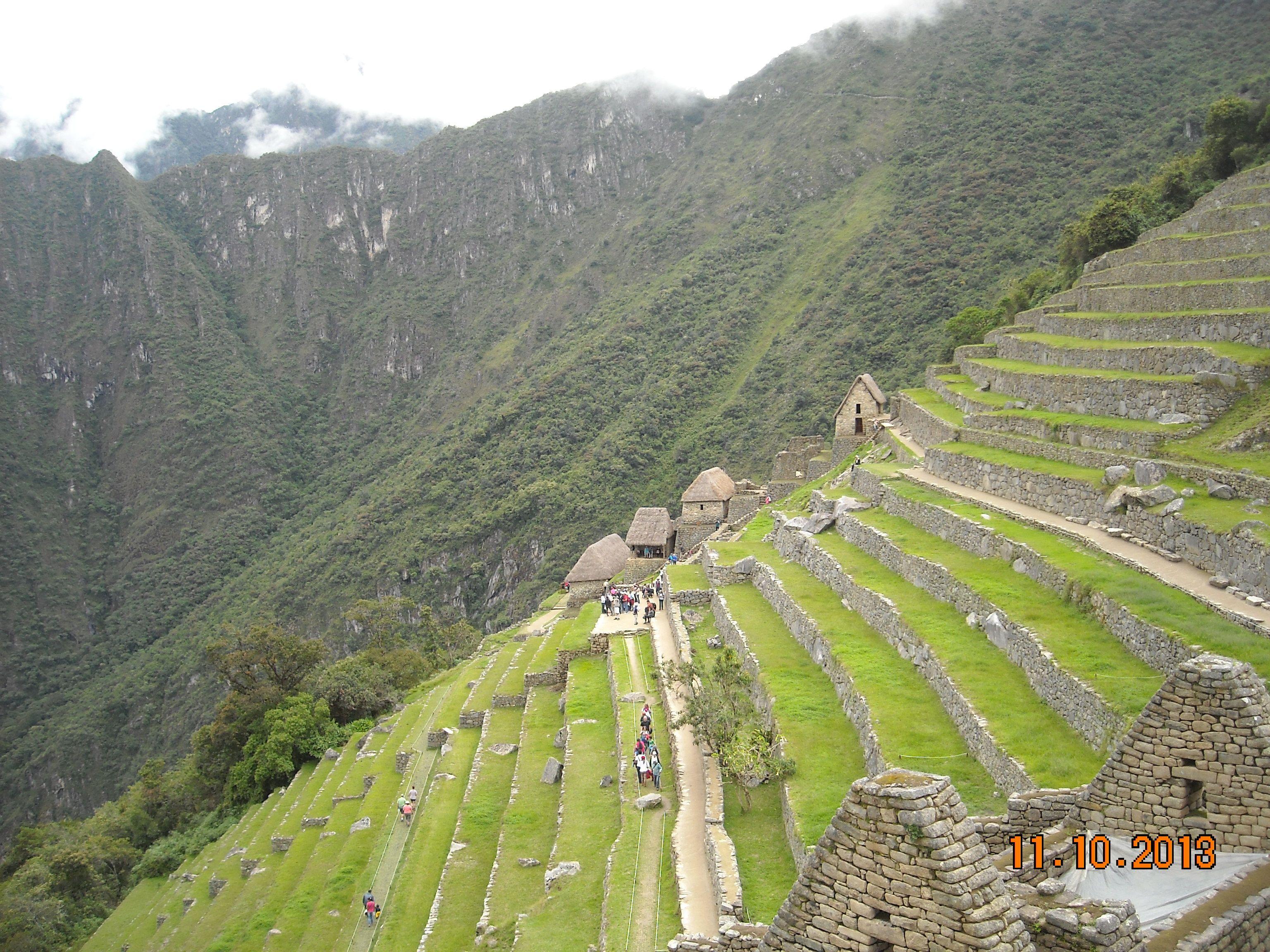 Terrazas De Cultivo Machu Pichu Machu Pichu Pichu Terrazas
