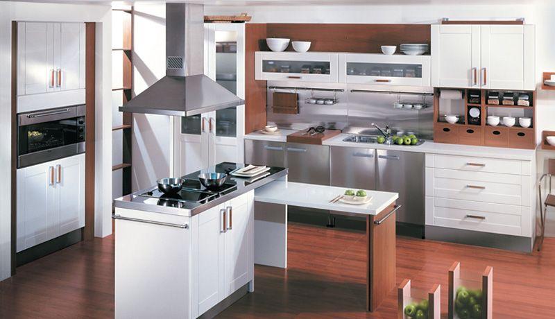 diseños de muebles cocinas en melamina - Buscar con Google ...