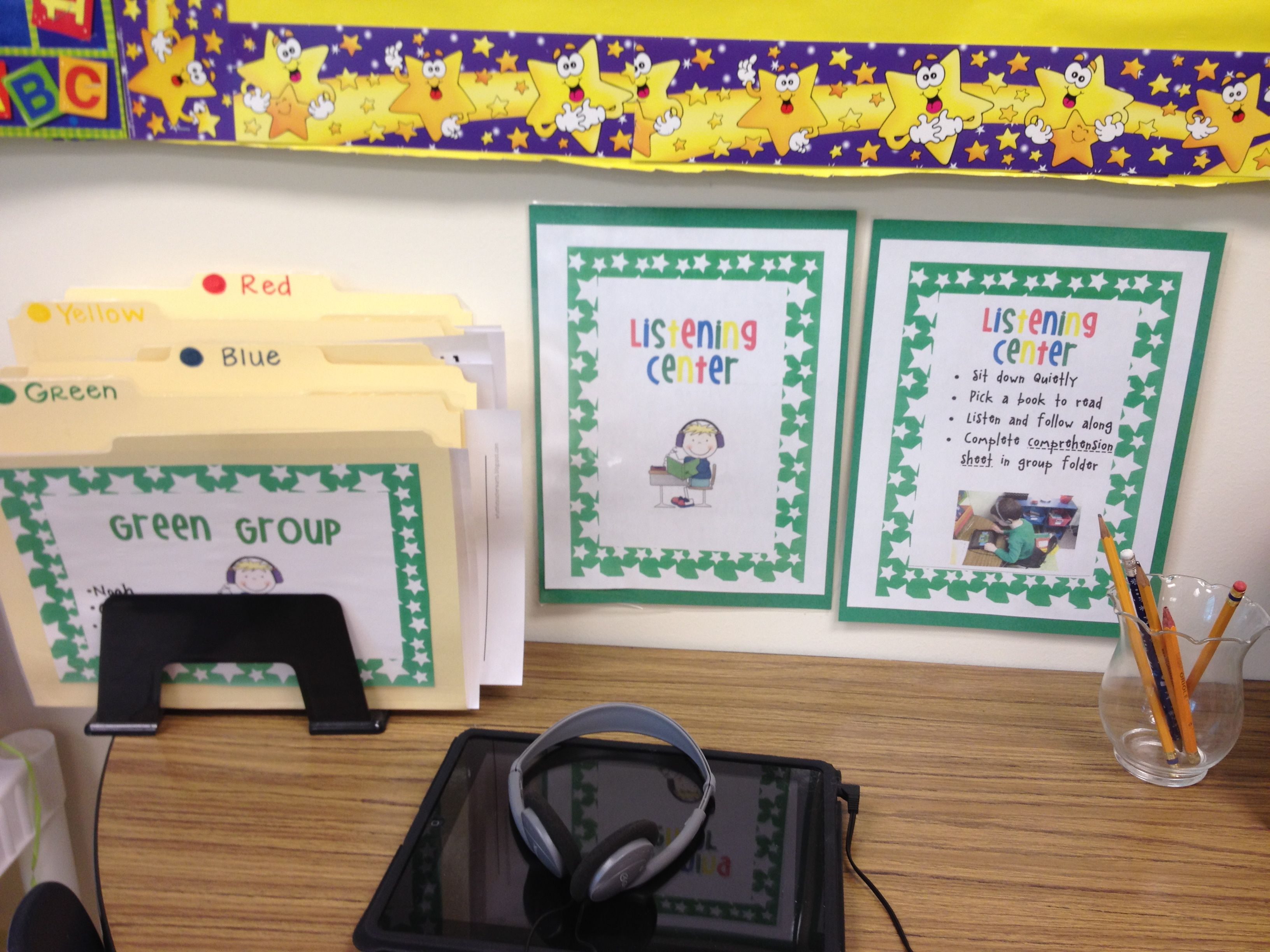 Listening Center With The Ipad