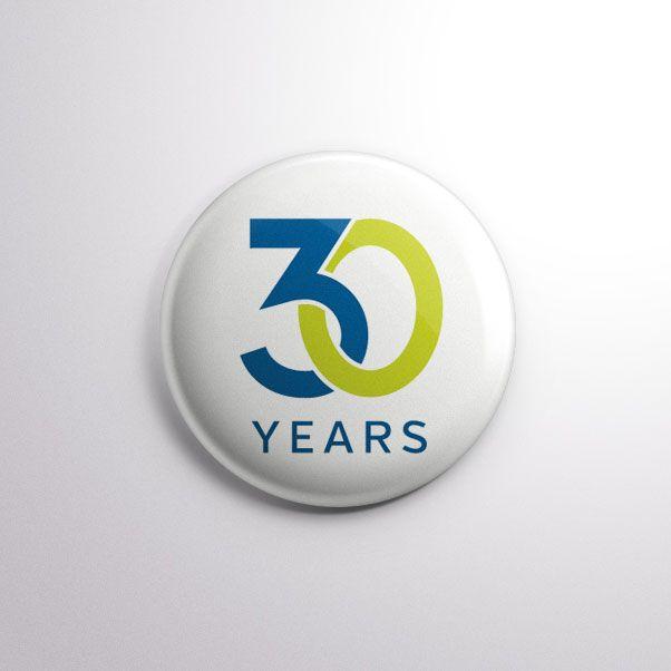 30 Year Anniversary Logo