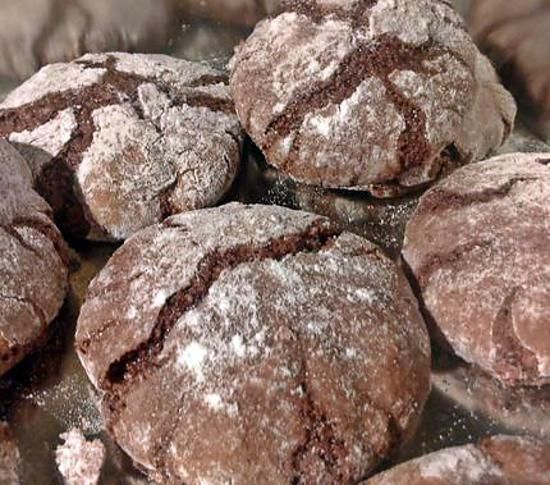 ~ Amaretti au chocolat ~