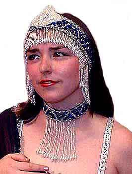 Belly Dancing Head Sets of Head Piece and Choker