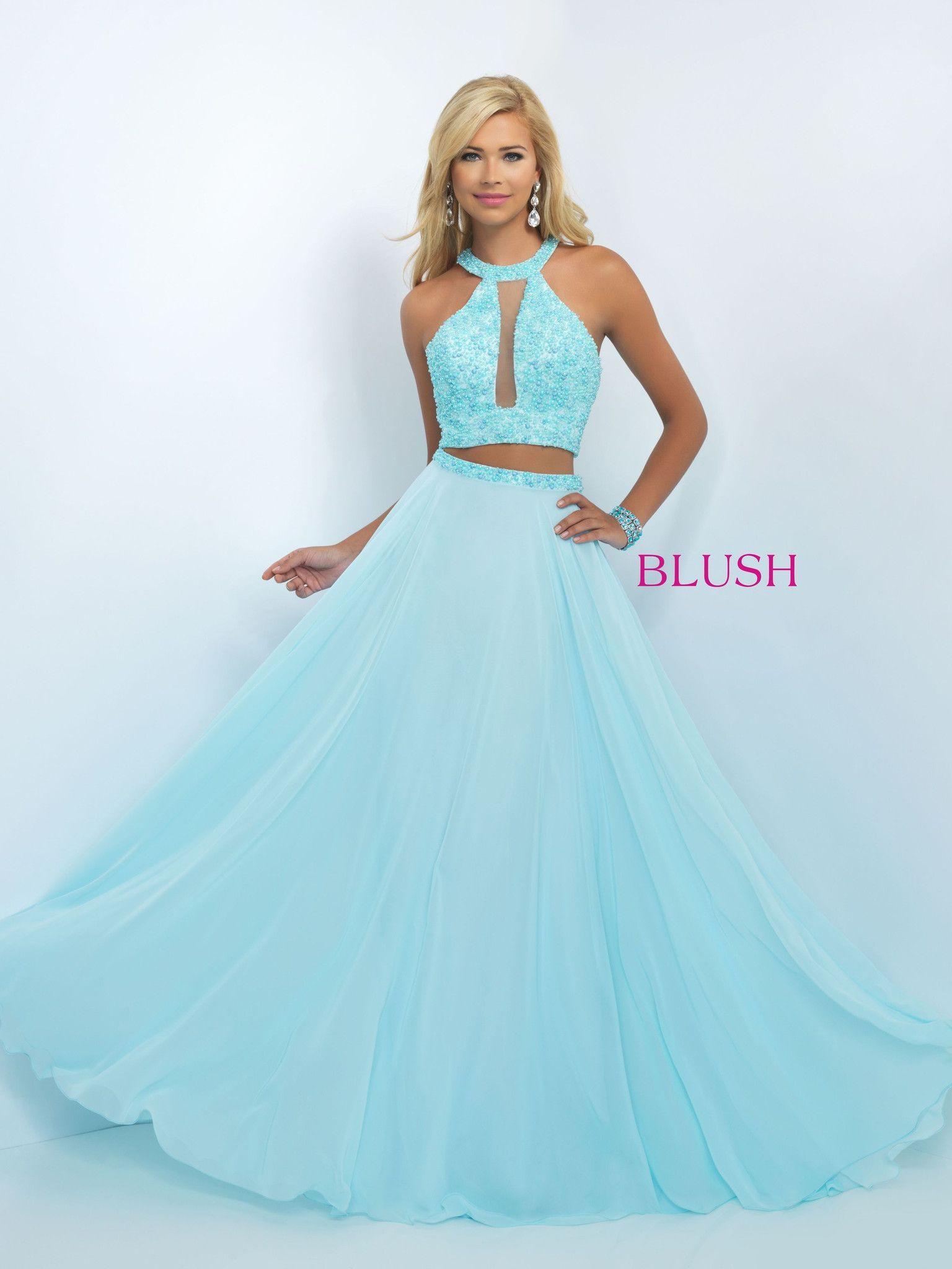 Collect praise in this beautiful two piece gown! And it\'s at Rsvp ...