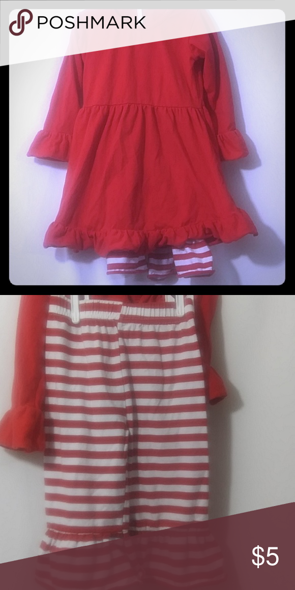 18 Month Christmas Outfit It is a two piece red dress with red and white  striped pants 18 months Only worn once Dresses Casual - 18 Month Christmas Outfit My Posh Closet Outfits, Dresses