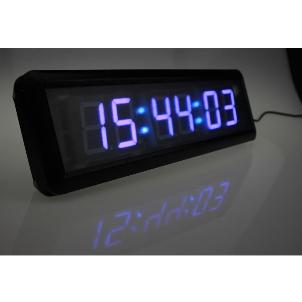Gym wall clock timer choice image home wall decoration ideas wall clock led images home wall decoration ideas ganxinfitness gym crossfit wod interval timer countdown stopwatch amipublicfo Choice Image