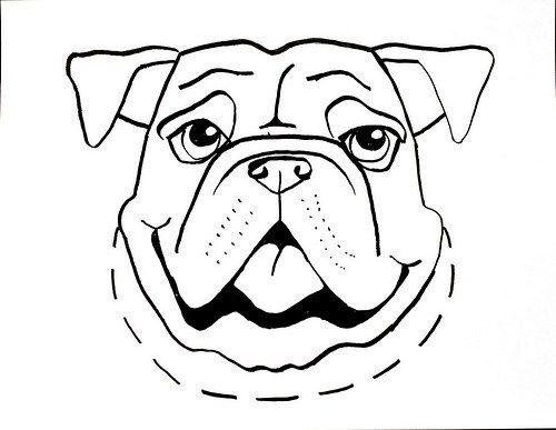 Dibujos de Perros para Imprimir Colorear y Pintar  perro  Pinterest