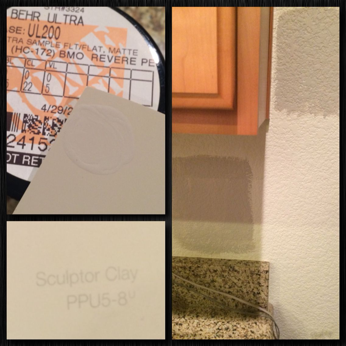 Accent Wall Colors Sculptor Clay: Sculptor Clay By Behr Is A Perfect Swap For Revere Pewter