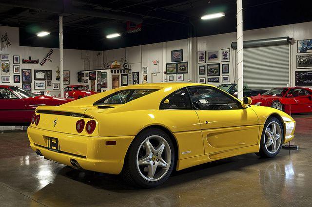 1995 Ferrari F355 Berlinetta Ferrari Light Yellow Ferrari