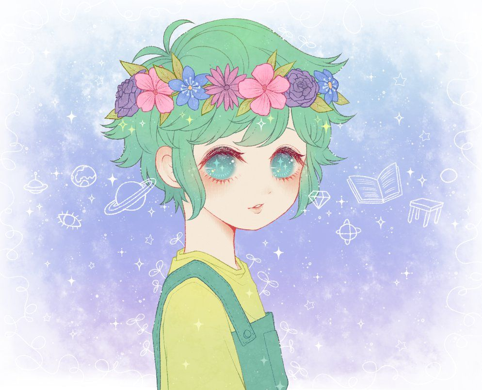 Omori The Flower Boy By Tourniiquett Anime Flower