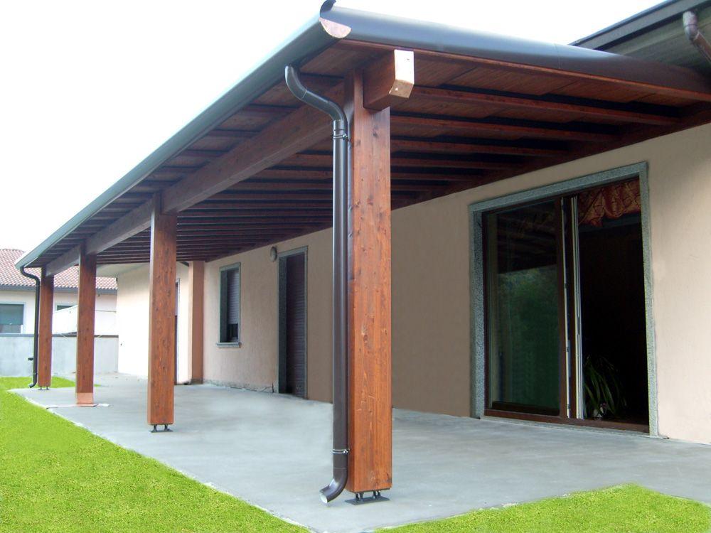 Pergola PiùCielo realizzata su misura, senza opere murarie, resistente a carico neve e spinta vento.