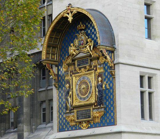 Scenic Runway Les Invalides Museum Paris France: Plus Vieille Horloge Publique Paris