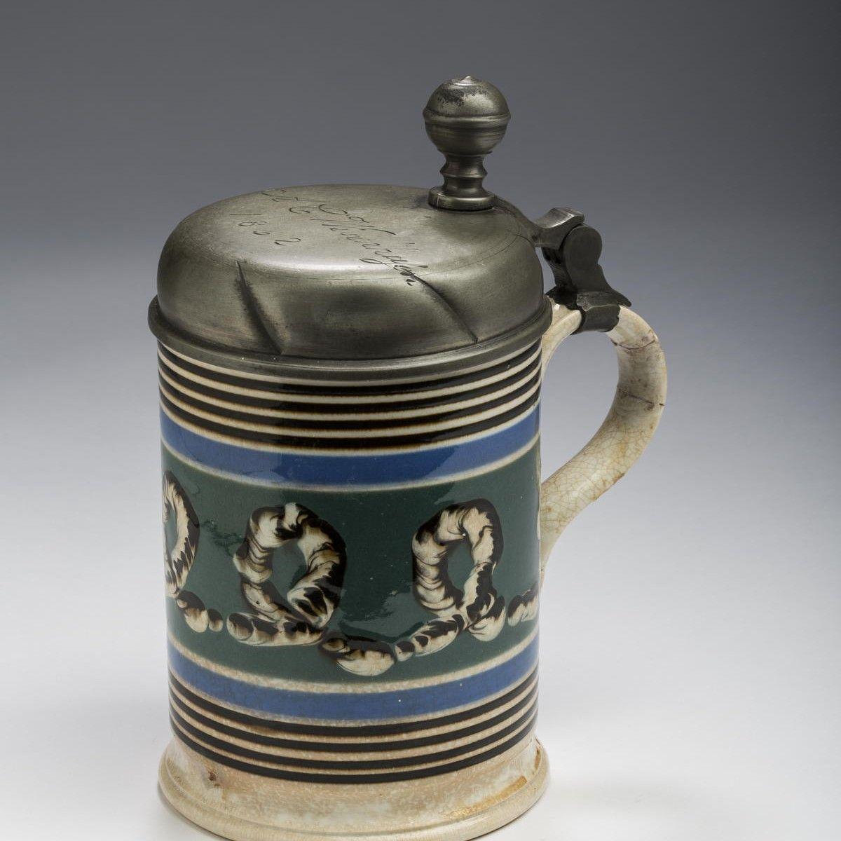 c.1862 Mochaware