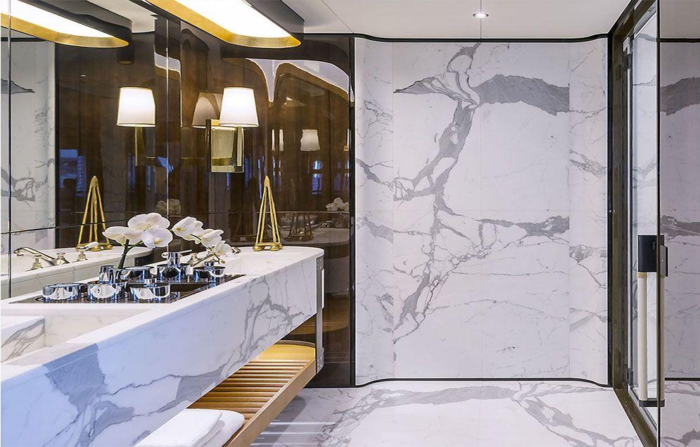 My Aurora 49m Yacht Interior Design Bathroom Design Layout