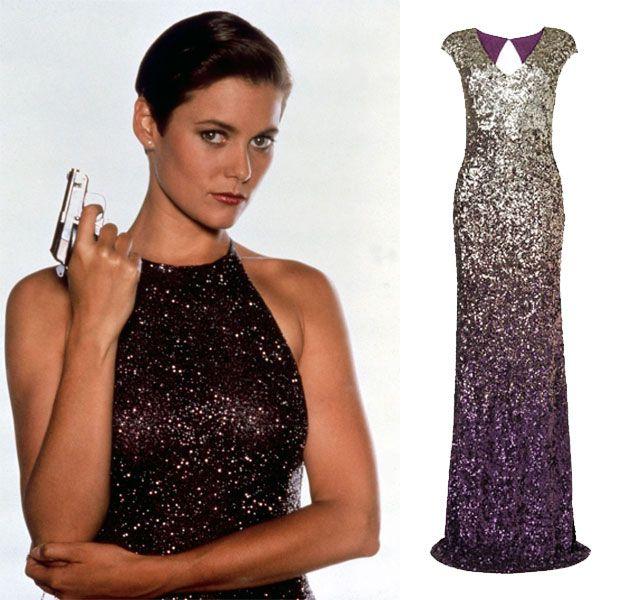 Bond Girl Casino Royale Dress Bond girl Pam B...