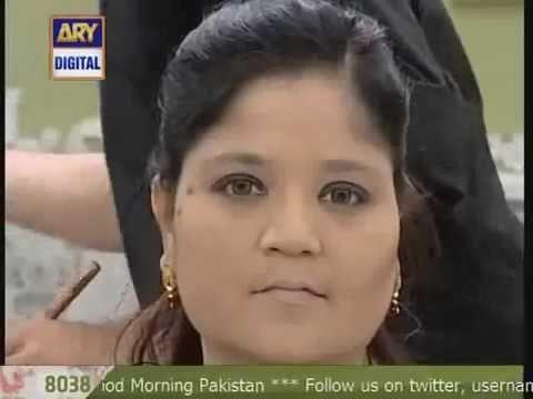 Good Morning Pakistan Make Up Class With Wajid Khan 18th August 2016 Pt2