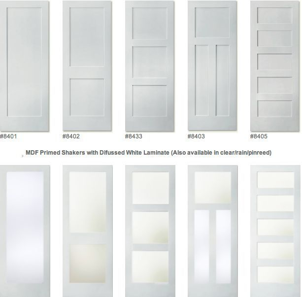Painted doors with glass panel or only at top if one over two also rh pinterest