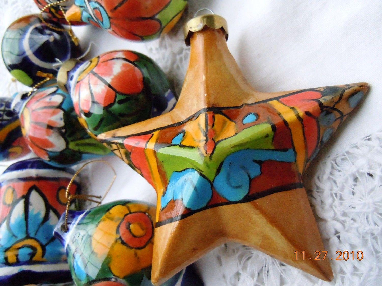 Adornos Para Un árbol Muy Mexicano Navidad Navidad Mexicana
