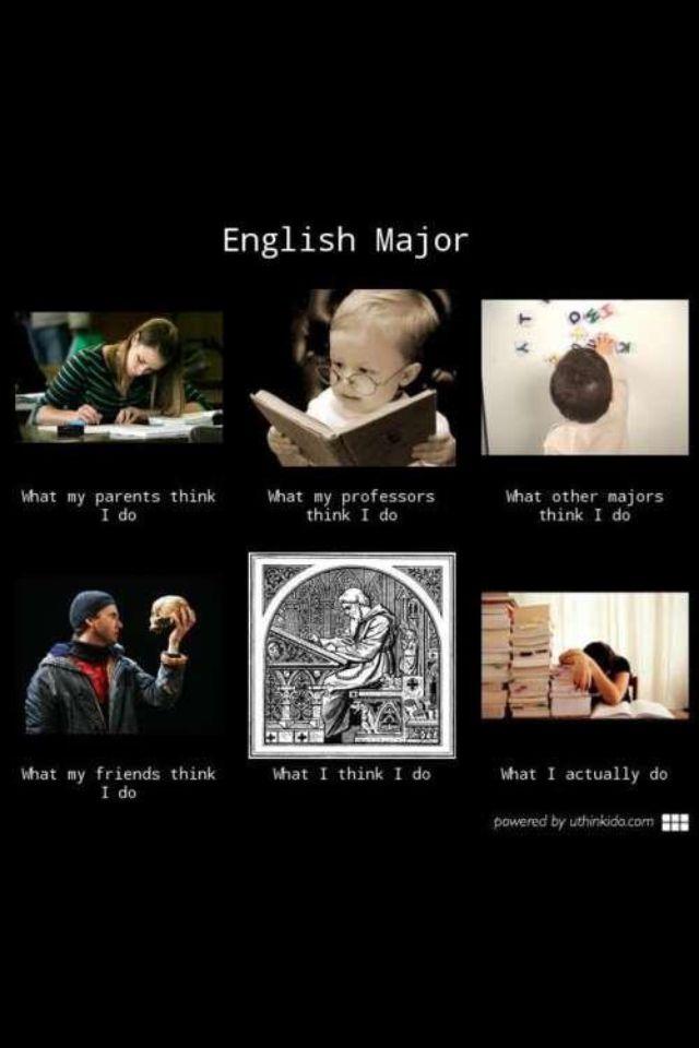 English Majors   Laughter: the Best Medicine   English jokes