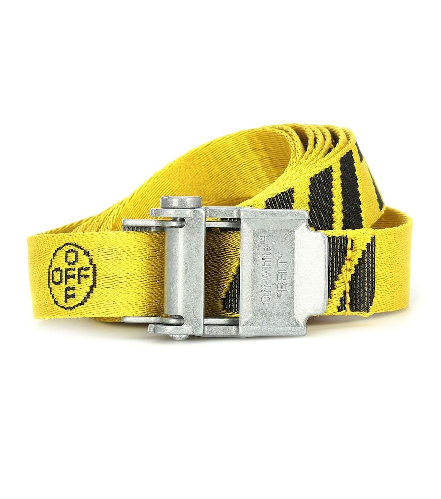 Mini 2 0 Industrial Belt In 2020 Off White Belt White Belt Off White